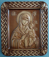 Икона Божией Матери «Неувядаемый Цвет» (235х275х18)