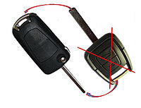 Корпус выкидного ключа (Для переделки) OPEL Vectra Astra Zafira 2 кнопки лезвие A\71