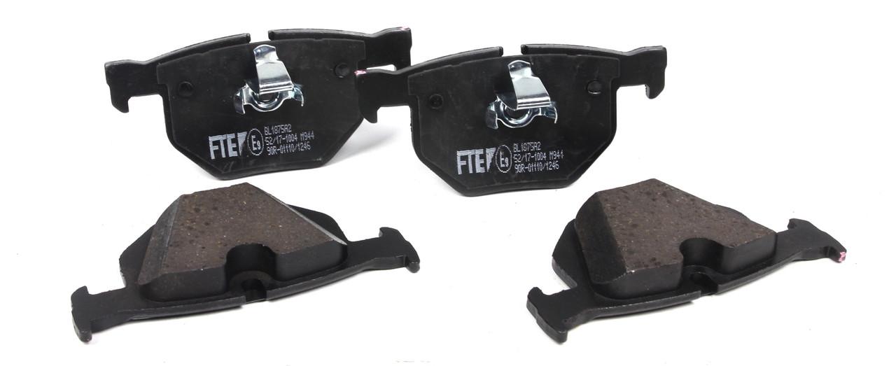 Колодки тормозные задние BMW 5 (E60/E61)/6 (E63/E64) 03- (ATE)