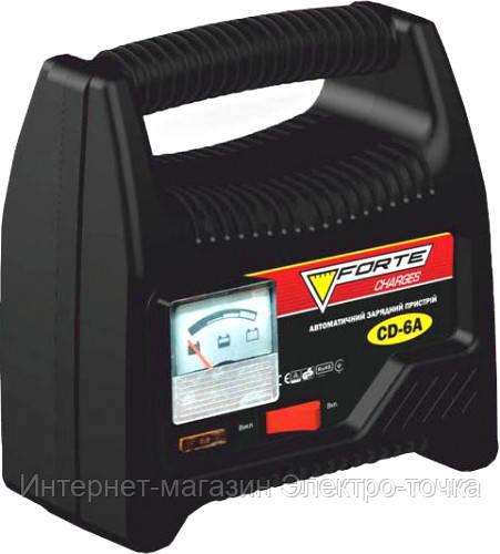 Зарядное устройство 12 В, 6 А Forte CD-6A