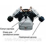 Компрессор 2200 Вт, 50л, 38 кг  Forte VFL-50, фото 2