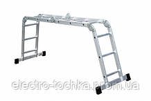 Лестница шарнирная 4х3, высота 355 см, ширина 67 см, 17,5 кг Forte 4x3