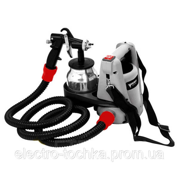 Электрический краскопульт 750 Вт, 1 л, 0,20 бар  Forte SG 750B