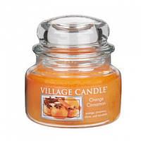 Свеча Апельсин-Корица Premium 315 г / Аромасвеча / Ароматизированная свеча / Ароматическая свеча