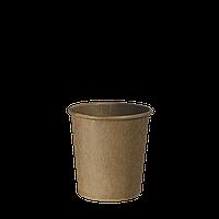 """Стакан бумажный Крафт """"Х"""" 110мл. 85шт/уп (1ящ/30уп/2550шт)"""