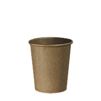"""Стакан бумажный Крафт """"Х"""" 180мл. 80шт/уп (1ящ/20уп/1600шт) (КР72)"""