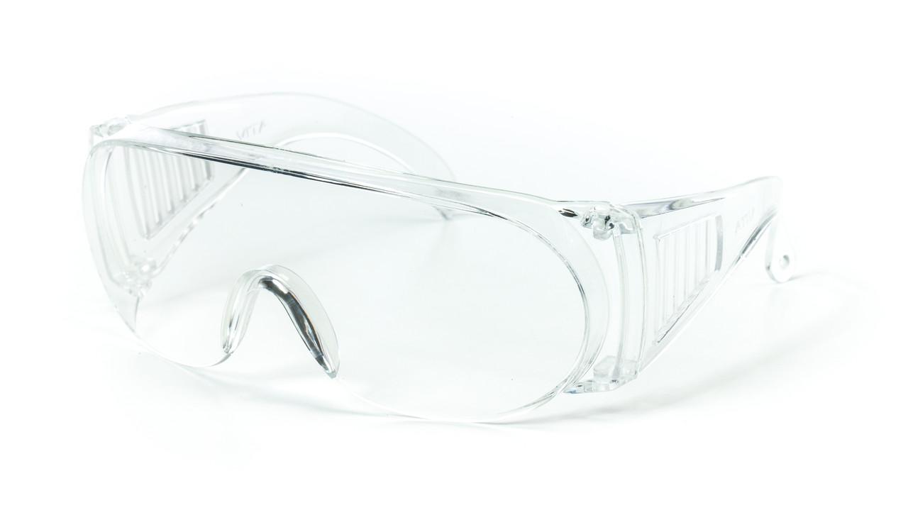 Очки защитные прозрачные (пластик)