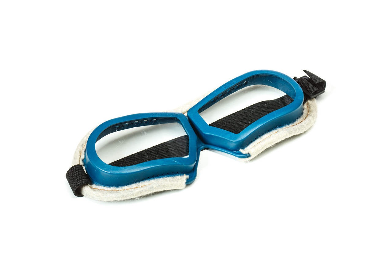 Очки защитные на резинке( с войлоком)