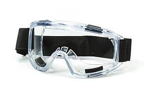 Очки защитные(лыжника) прозрачные на резинке