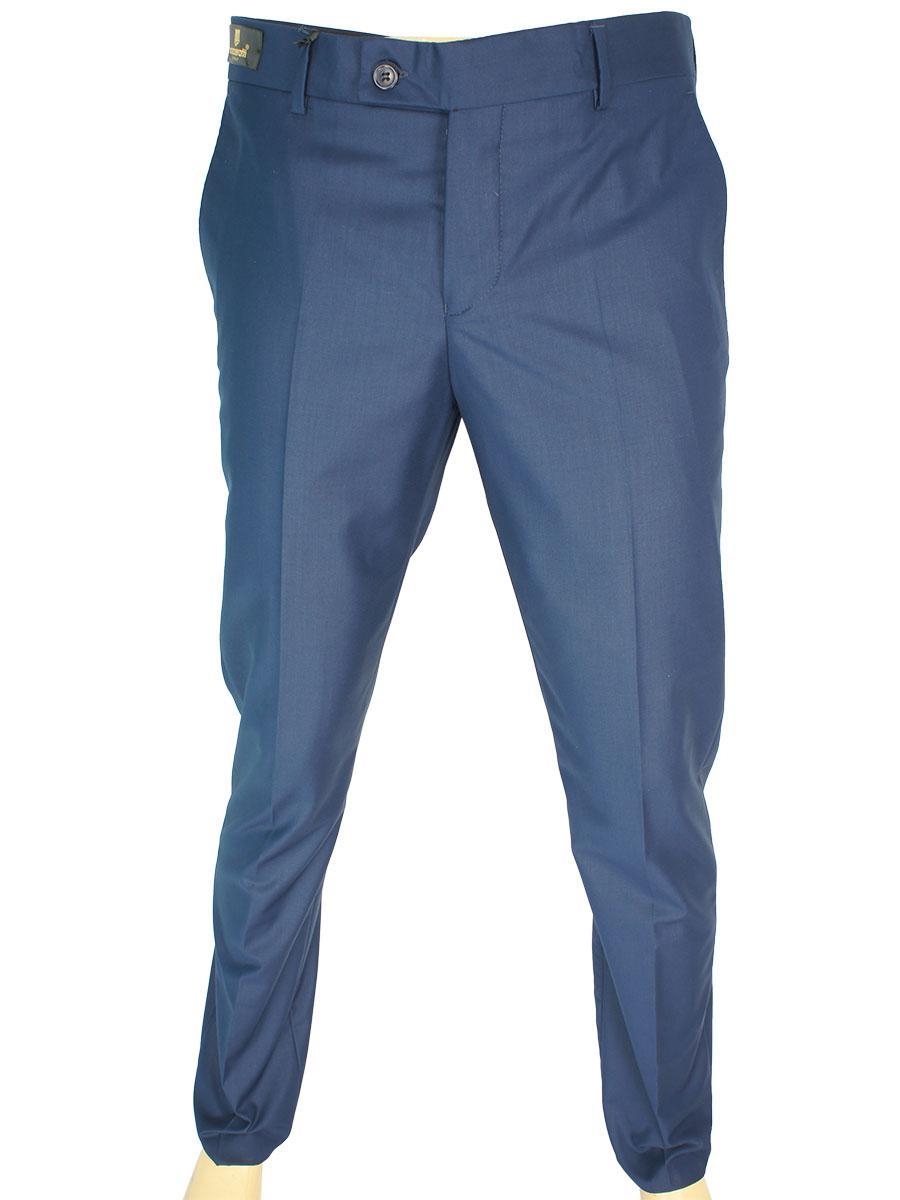 Однотонные мужские классические брюки Monzeratti Slim jeans