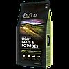 Profine (Профайн) LIGHT LAMB & POTATOES ягненок и картофель для оптимизации веса,3кг.