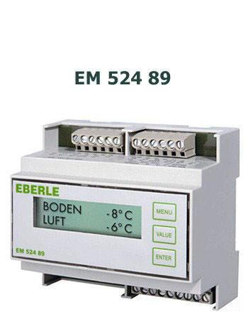 Терморегулятор для систем антиобледенения крыш, Eberle EM 524 89 -(Германия), гарантия 2 года.
