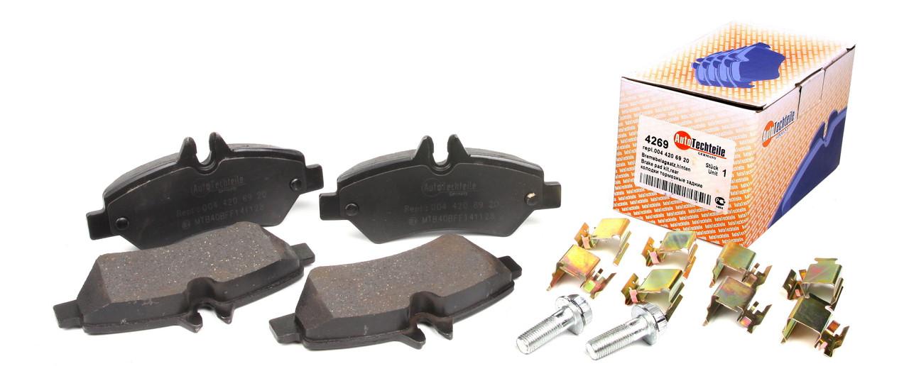 Колодки тормозные задние Sprinter 209-319 / Crafter 30-35 06- Autotechteile  A4269 Германия
