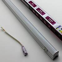 Светодиодный линейный Led светильник Т5 900мм 4200К с кнопкой на корпусе