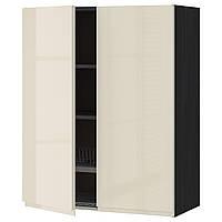 METOD Шкаф навесной с крылом/2 двери