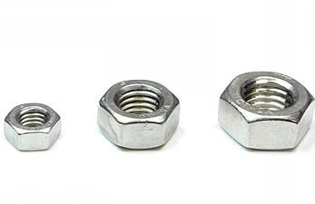 Гайка нержавеющая М3.5 DIN 934 (ГОСТ 5915-70, ГОСТ 5927-70) сталь А2 и А4, фото 2