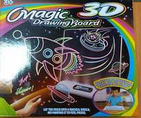Доска 3D для рисования Magic Drawing Board 4 вида в кор. 35*45см. /48/()