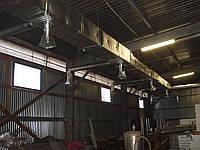 Вентиляция СТО, гаража, бокса, мастерской
