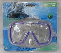 Маска для плавания 8+ INTEX 2 цвета