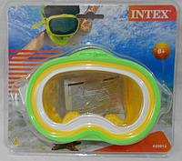 Маска для плавания 8+  INTEX