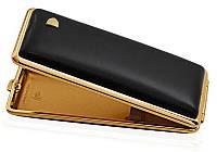 Портсигар VH 904101 для 14 Super KS слим сигарет, кожа черная гладкая