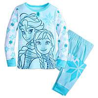 Пижама для девочки Холодное сердце пижама Дисней 7,8 лет / Frozen PJ set Disney