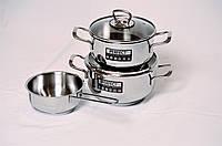 Набор посуды из нержавеющей стали 5 един. Hascevher