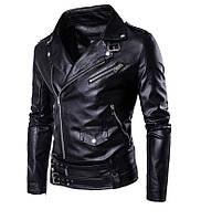 Косуха байкерская с натуральной кожи,куртка кожаная.