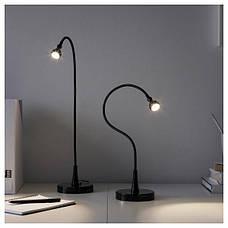 ЯНШО Рабочая лампа, светодиодная, черный, 60 см 60385943, IKEA, ИКЕА, JANSJÖ, фото 2