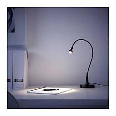 ЯНШО Рабочая лампа, светодиодная, черный, 60 см 60385943, IKEA, ИКЕА, JANSJÖ, фото 3