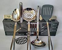 Набор кухонных инструментов Brauch 6 предметов Krauff 29-44-268