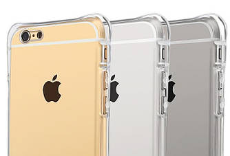 Прозрачный чехол iPhone 6 6S (усиленный углами) Ultra Air (Айфон 6 6С)