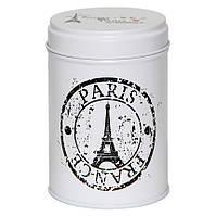 Банка для чая с внутренней крышкой Ассорти 1 день в Париже, 75г ( банка жестяная )