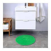 БАДАРЕН Килимок для ванної, зелений, круглий, 55 см 70306945 IKEA, ІКЕА, BADAREN