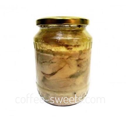 Печень трески Высший сорт 700г натуральная, фото 2