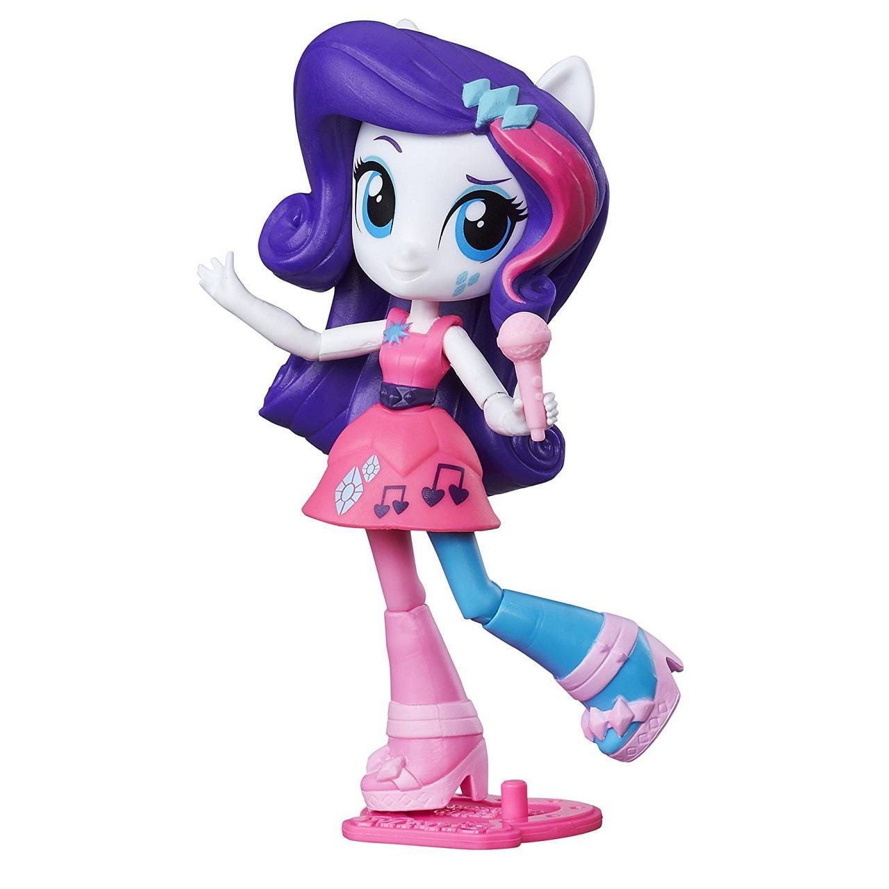 Май литл пони мини Эквестрии Рарити Радужный рок My Little Pony Equestria Girls Minis Rockin Rarity