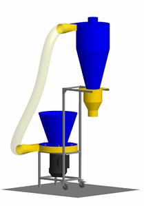 Универсальный измельчитель ДР-500 (Дробильный агрегат без циклона)