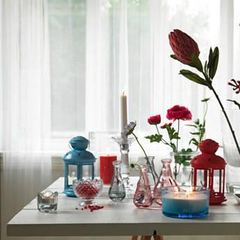 РОТЕРА Подсвечник, салатовый, для дома и улицы, 702590863, IKEA, ИКЕА, ROTERA, фото 2