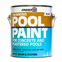 Краска для бассейнов, цвет голубой