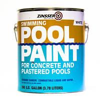 Краска для бассейнов, цвет белый