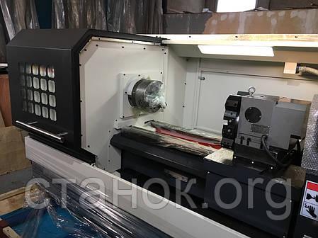 Токарный станок по металлу с ЧПУ 500-1500 токарний верстат, фото 2