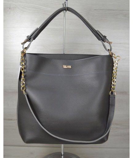 ... Женские сумочки и клатчи  Серая сумка женская цепочка. Серая сумка  женская цепочка 56738f83151