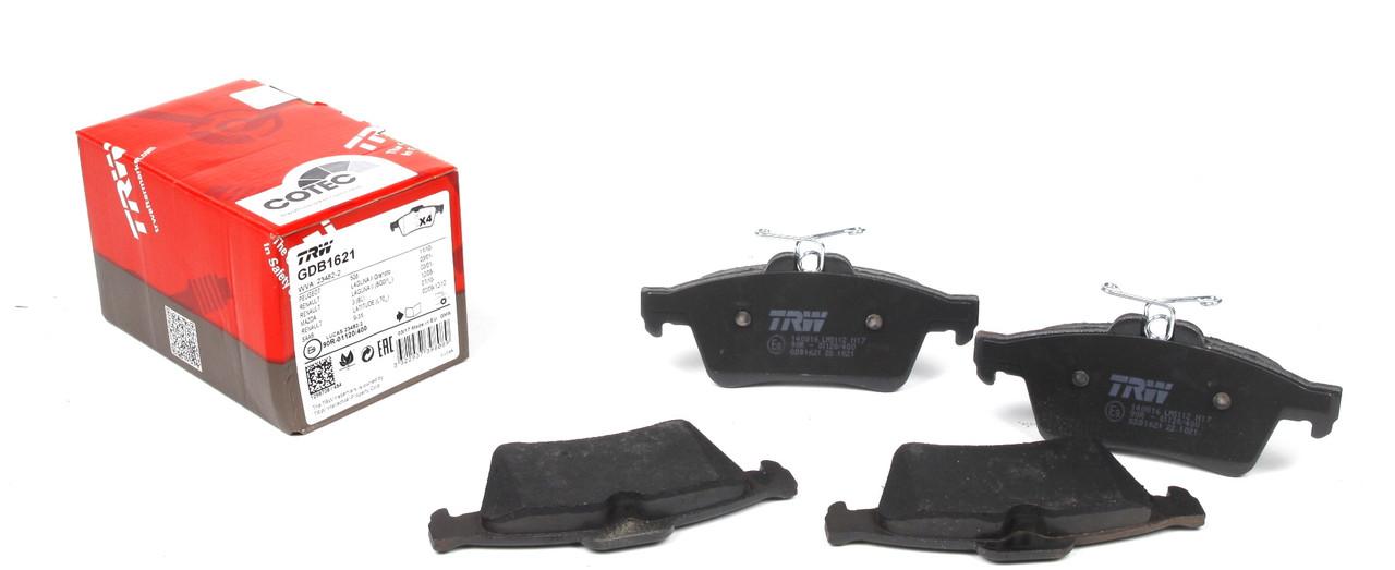 Колодки тормозные (задние) Ford Connect 02-