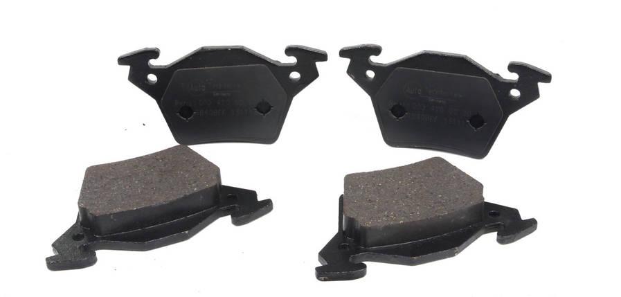 Колодки тормозные задние Вито 638, 1998- CDI (тип Bosch) Германия, фото 2