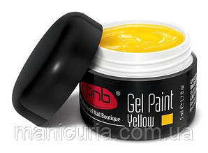 Гель-краска PNB UV/LED Gel Paint 08 Yellow, 5 мл
