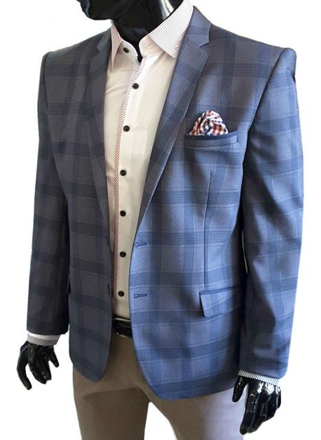 Пиджаки мужские классического фасона - Regular Fit