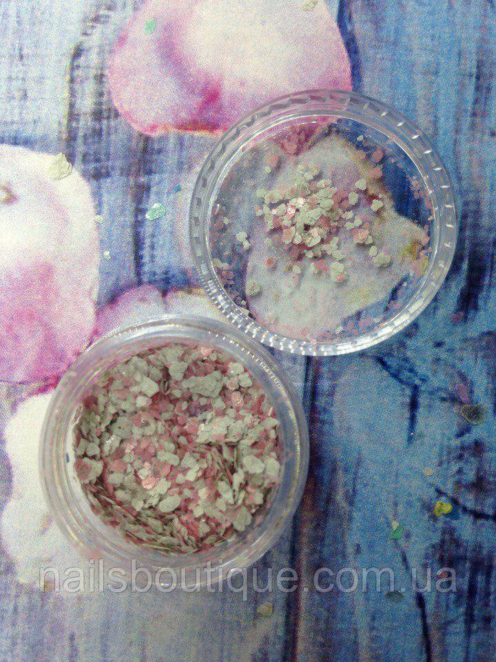 Декор мрамор, розовый