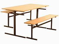 Комплект мебели для столовой в учебных заведениях.