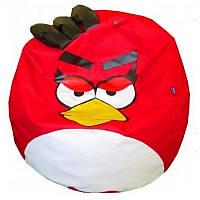 Кресло мешок Angry Birds мяч красный, фото 1