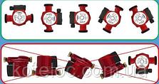 Насос циркуляционный SUNTERMO 25/40 180 мм с гайками, кабель, фото 3